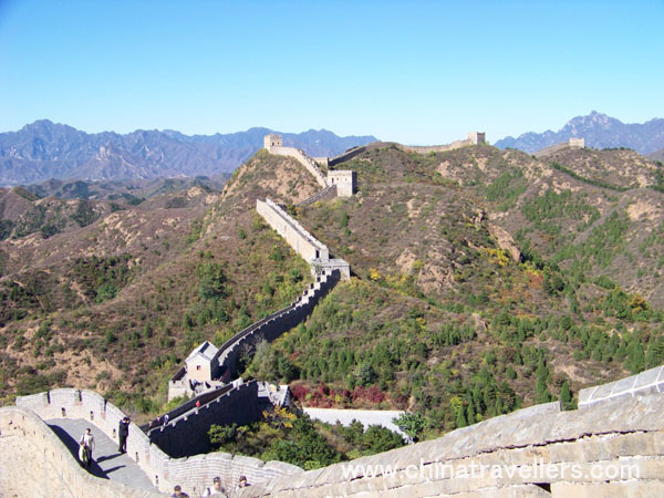 describe great wall of china